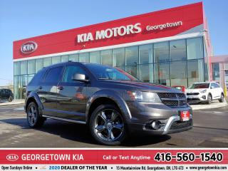 Used 2015 Dodge Journey CROSSROAD | AWD | 7 PASS | NAV | B/U CAM |77,896K for sale in Georgetown, ON