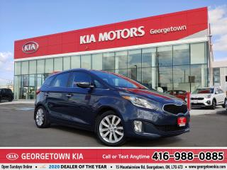 Used 2014 Kia Rondo EX   ACCDNT-FREE   7 PASS   LTHR   ROOF   B/U CAM for sale in Georgetown, ON