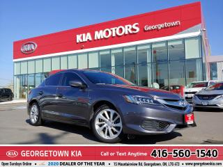 Used 2017 Acura ILX PREMIUM | CLEAN CARFAX | LTHR | ROOF |31K KM for sale in Georgetown, ON