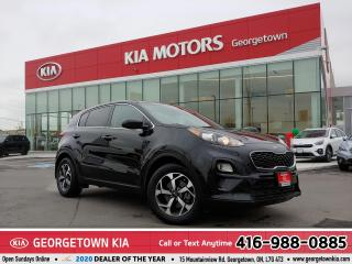 Used 2020 Kia Sportage LX | 1-OWNR | ACCDNT-FREE | B/UP CAM | HTD STS | for sale in Georgetown, ON