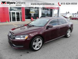 Used 2012 Volkswagen Passat 2.5L AUTO COMFORT  - $95 B/W for sale in Orleans, ON