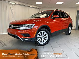 Used 2018 Volkswagen Tiguan Trendline, Traction Avant, Automatique for sale in Sherbrooke, QC