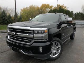 Used 2016 Chevrolet Silverado 1500 High Country Crew Cab 4WD for sale in Cayuga, ON