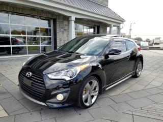 Used 2013 Hyundai Veloster *201 HP, Turbo Tech Cuir Toit Nav for sale in St-Eustache, QC