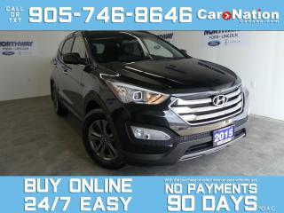 Used 2015 Hyundai Santa Fe Sport BLUETOOTH |REAR CAM |OPEN SUNDAYS |BACK UP SENSORS for sale in Brantford, ON