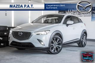 Used 2017 Mazda CX-3 AWD,AUTOMATIQUE,CAMÉRA DE RECUL,TOIT OUVRANT,GPS for sale in Montréal, QC