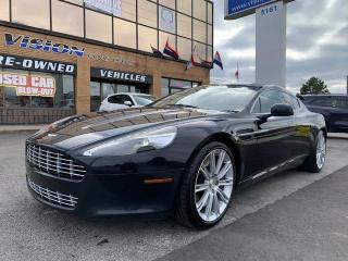 Used 2011 Aston Martin Rapide LUXURY / NAVIGATION / DVD'S for sale in North York, ON