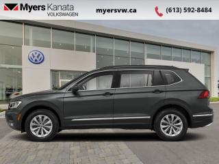 Used 2018 Volkswagen Tiguan Comfortline 4MOTION  - Certified for sale in Kanata, ON