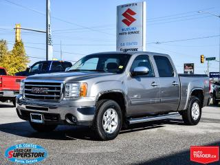 Used 2013 GMC Sierra 1500 SLE Z71 Crew Cab 4x4 ~Power Seat ~Trailer Tow for sale in Barrie, ON