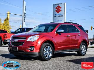 Used 2015 Chevrolet Equinox LT AWD ~Backup Camera ~Heated Leather ~Power Seat for sale in Barrie, ON
