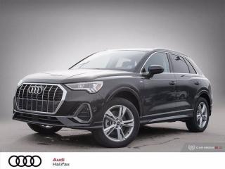 New 2021 Audi Q3 Technik for sale in Halifax, NS