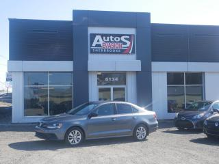 Used 2017 Volkswagen Jetta 1.4 TSI Trendline, CAMÉRA RECUL + BLUETOOTH for sale in Sherbrooke, QC