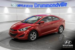 Used 2014 Hyundai Elantra Coupe GL + GARANTIE + A/C + MAGS + CRUISE + W for sale in Drummondville, QC