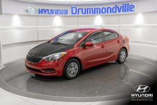 Used 2014 Kia Forte LX + GARANTIE + A/C + CRUISE + WOW !! for sale in Drummondville, QC