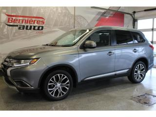 Used 2016 Mitsubishi Outlander AWD SE V6 3.0 7 PASSAGERS for sale in Lévis, QC