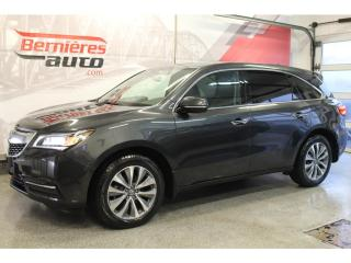 Used 2016 Acura MDX TECH SH-AWD + DVD for sale in Lévis, QC