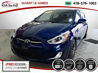 Used 2016 Hyundai Accent * GLS* MANUELLE* TOIT OUVRANT* SIEGES CH for sale in Québec, QC