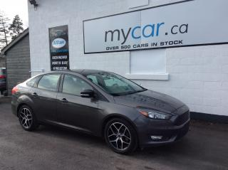 Used 2016 Ford Focus LEATHER, HEATED SEATS, BACKUP CAM, ALLOYS!! for sale in Richmond, ON