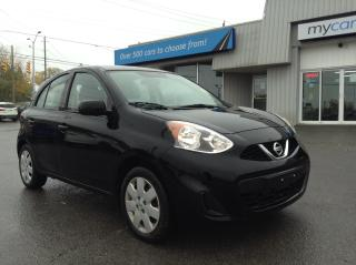 Used 2017 Nissan Micra SV POWERGROUP, A/C!! for sale in Kingston, ON