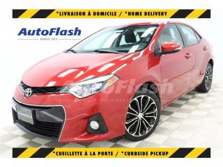 Used 2014 Toyota Corolla 'S' Sport* Bluetooth* Camera* Toit-Ouvrant* for sale in St-Hubert, QC