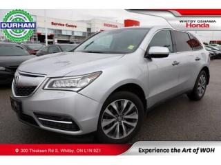 Used 2015 Acura MDX SH-AWD for sale in Whitby, ON