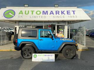 Used 2010 Jeep Wrangler Sport 4WD WINCH! LOTS OF EXTRAS! FREE BCAA MBRSHP & WRNTY for sale in Langley, BC