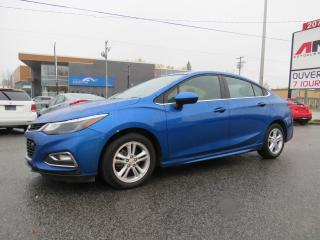 Used 2017 Chevrolet Cruze LT RS SPORT PACKAGE 1.4L TURBO CAMERA MAGS A/C for sale in St-Eustache, QC