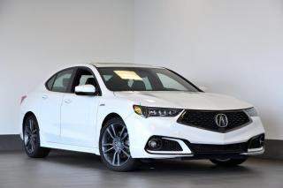 Used 2020 Acura TLX Tech A-Spec DÉMONSTRATEUR ! for sale in Ste-Julie, QC
