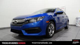 Used 2017 Honda Civic LX + MANUELLE + BLUETOOTH + CAMERA ! for sale in Trois-Rivières, QC
