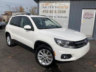 Used 2013 Volkswagen Tiguan ***HIGHLINE,CUIR,TOIT PANO,AWD*** for sale in Longueuil, QC