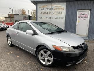 Used 2006 Honda Civic ***LX,COUPÉ,MAGS,A/C,AUTOMATIQUE*** for sale in Longueuil, QC