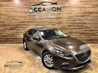Used 2016 Mazda MAZDA3 Berline 4 portes, boîte manuelle, GS 286 for sale in Ste-Brigitte-de-Laval, QC