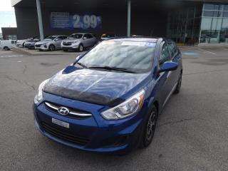 Used 2016 Hyundai Accent GL,A/C,CRUISE,BANCS CHAUFFANTS, VITRES,BLUETOOTH for sale in Mirabel, QC