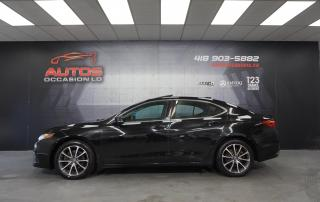 Used 2016 Acura TLX SH-AWD V6 AUTO CUIR TOIT OUVRANT CAMERA 76 241 KM for sale in Lévis, QC
