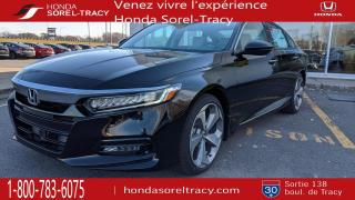 Used 2019 Honda Accord TOURING CVT CUIT TOIT SENSING NEUVE for sale in Sorel-Tracy, QC