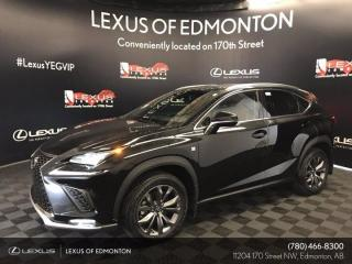 New 2021 Lexus NX 300 F Sport Series 1 for sale in Edmonton, AB