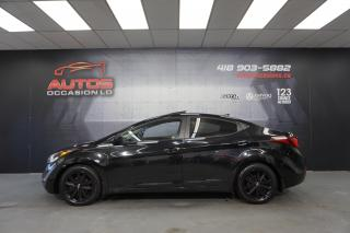 Used 2016 Hyundai Elantra SPORT AUTO TOIT OUVRANT CAMERA BLUETOOTH 64 778 KM for sale in Lévis, QC