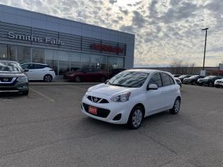 Used 2017 Nissan Micra 1.6 SV at for sale in Smiths Falls, ON
