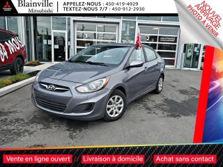 Used 2014 Hyundai Accent L BERLINE TRES BAS KILO for sale in Blainville, QC