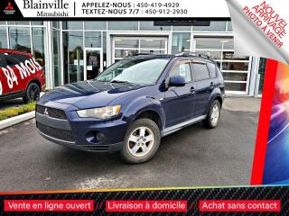 Used 2011 Mitsubishi Outlander ES AWC 4X4 TOUJOURS SOUS GARANTIE for sale in Blainville, QC