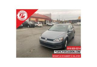 Used 2016 Volkswagen Golf TRENDLINET SUPER PROPRE for sale in Val-D'or, QC