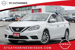 Used 2016 Nissan Sentra 1.8 SV Roof | Alloys | Lease Return | Accident Free for sale in St. Catharines, ON