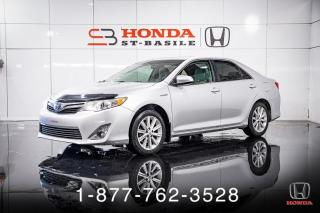 Used 2012 Toyota Camry HYBRID HYBRID + LE + A/C + CRUISE + MAGS + WOW! for sale in St-Basile-le-Grand, QC