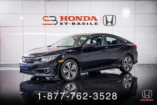 Used 2016 Honda Civic EX-T + AUTO + TOIT + CAMERA + MAGS + WOW for sale in St-Basile-le-Grand, QC