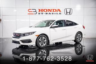 Used 2017 Honda Civic LX + AUTO + A/C + CAMERA + WOW! for sale in St-Basile-le-Grand, QC