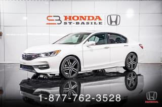 Used 2017 Honda Accord SPORT + TOIT + A/C + CAMERA + MAGS + WOW for sale in St-Basile-le-Grand, QC