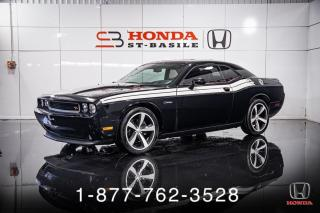 Used 2014 Dodge Challenger R/T + COUPE + AUTO + TOIT + MAGS + WOW! for sale in St-Basile-le-Grand, QC
