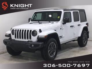 New 2021 Jeep Wrangler 80th Anniversary Unlimited for sale in Regina, SK