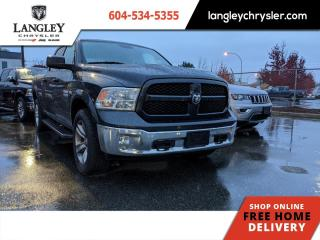 Used 2017 RAM 1500 Outdoorsman  Accident Free / Soft Tonneau / Locally Driven for sale in Surrey, BC