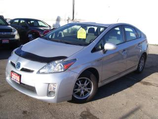 Used 2010 Toyota Prius HYBRID,GAS SAVER,LOW KM'S,BLUETOOTH,CERTIFIED for sale in Kitchener, ON
